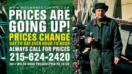 M Dunn Recycling Center Philadelphia Scrap Metal Prices Video Blog Feb 24, 2021 Easy load in to our facility. Make extra money with scrap