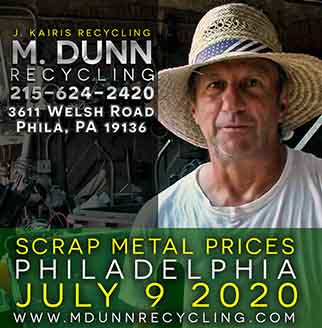 M Dunn Recycling Center Philadelphia Scrap Metal Prices Video Blog Oct 27, 2020 Easy load in to our facility. Make extra money with scrap
